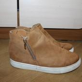 Стильні ботинки , слипоны под замшу mayline
