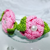 Троянди-резинки для маленьких хвостиків!