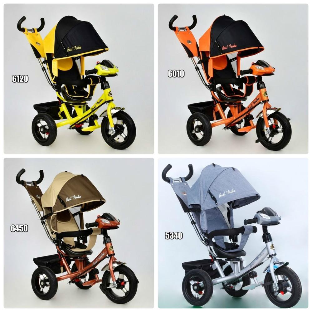 Велосипед 3-х колёс. 7700 в - 6560 best trike,поворотное сиденье,надувные колеса фото №1