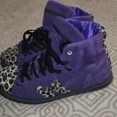 высокие кроссовки деми ботинки Macbeth 24.5 см 37-38 размер Англия кожа
