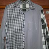 Рубашка хлопковая, размер L, состояние новой