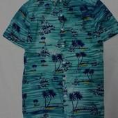 Стильная хлопковая рубашечка р s