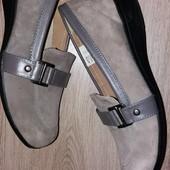 Туфли замша Damart р.38 стелька 24,5 см.
