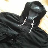Куртка парка фирменная без утеплителя H&M р.48