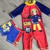 Купальный костюм Сем строитель на 2/3 года