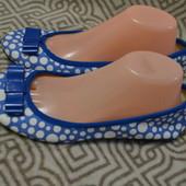 новые балетки туфли Marks&Spenser 25.5 см 39 размер Англия