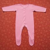 9-12 месяцев Хлопковый человечек Mothercare, б/у.