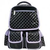 Рюкзак школьный «Lady fashion», черый серии School Soft, Olli