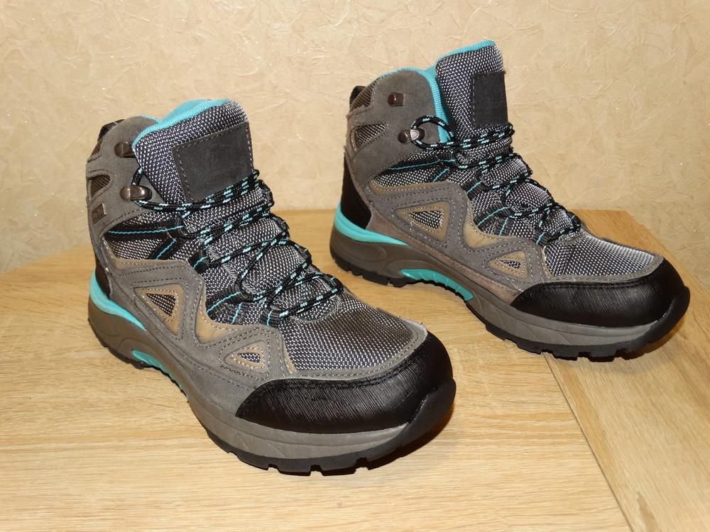 Р.38 треккинговые ботинки adventuridge 25 см. по стельке в идеале фото №1