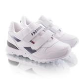 Размеры 30-35 Стильные белые кроссовки для мальчика