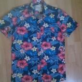 Фирменная летняя рубашка S