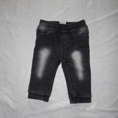 6-12 мес., р. 68-80 джинсы джоггеры Baby фирменные джинсики