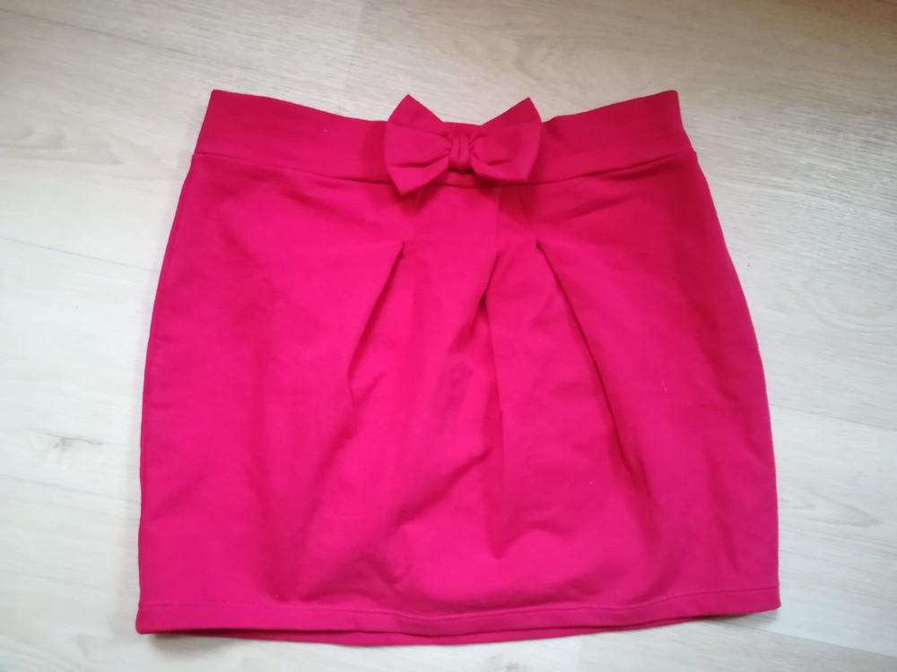 966873b54f0 Хлопковая юбка трикотаж фото №1