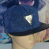Классная кепка репперка,р-р универсальный,на голову 52-58,сток