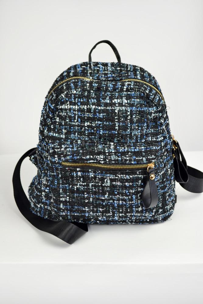 Стильный городской рюкзак из ткани букле, цена 310 грн - купить ... 61e9dcb960e