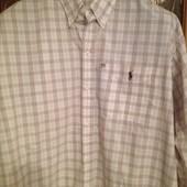 рубашка шикарная Polo Ralph Lauren р.XL хлопок
