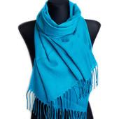 стильные однотонные шарфы палантины большой выбор Саманта