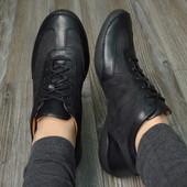 Кроссовки туфли кожа Clarks(41)