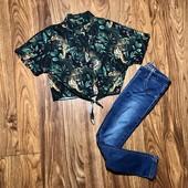 Стильная шифоновая  блуза I Love Next