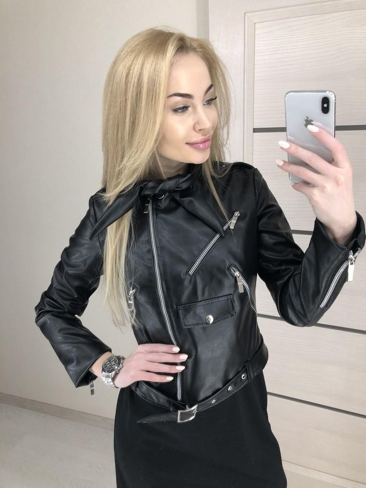 Женская курточка косуха фото №1