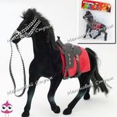 Игрушка лошадка, фигурка лошади из флокса
