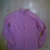 Фирменная хлопковая  рубашка L