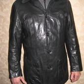 Кожанный пиджак размер S\M