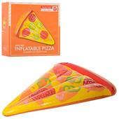 Надувной пляжный матрас пицца 25568: размер 188х130см, нагрузка до 80кг