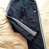 Спортивные штаны фирменные лёгкие Adidas climalite р.48-50