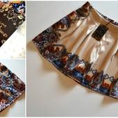 Новые легкие юбка-шорты в узор
