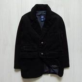 Шикарный черный вельветовый пиджак для мальчика. GAP. Размер 5 лет