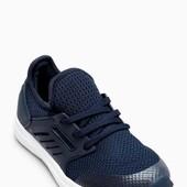 Темно-синие кроссовки Fashion с вязаной отделкой Next (39,5)