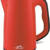 Электрочайник-термос Monte MTG-1811 сталь красный
