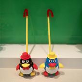 Каталочка Пингвин на палочке