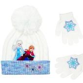 Комплект шапка и перчатки Disney Frozen. США.
