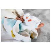 Одеяло детское, разноцветное, 90x90 см 703.197.21 Stjärnbild, Стьернбилд Икеа Ikea В наличии
