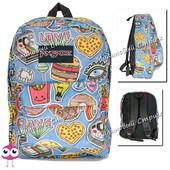 Городской рюкзак для подростков JanSport-122, подойдет как школьный рюкзак, наружный карман