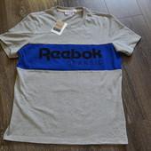 Футболка reebok, оригинал, размер l