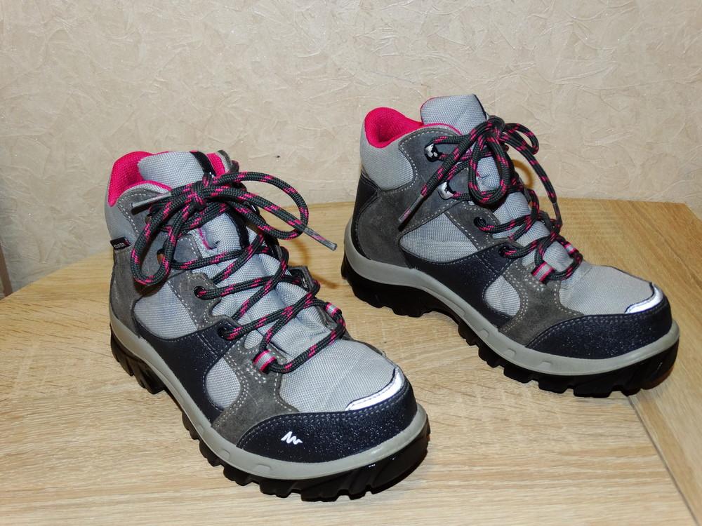 Р.32 треккинговые ботинки quechua , 21 см. по стельке фото №1