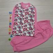 Пижама для девочек. Размеры 5 и 7 лет. Турция. В наличии.