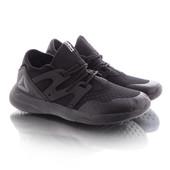 Легкие удобные мужские кроссовки черного цвета