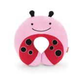 Skip Hop Дорожная подушка-подголовник Божья коровка zoo ladybug neckrest travel