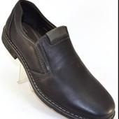 Удобные мужские туфли с 41 по 46 размер