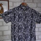 Next рубашка летняя. 7 л 122 см