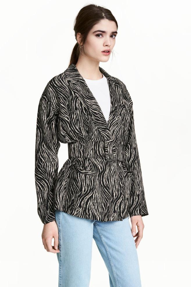 Жакет с поясом, h&m, s пиджак куртка фото №1