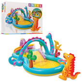 Детский игровой центр Планета Динозавров Intex 57135. Акция до 10.04