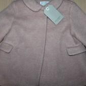 Шикарное пальто Zara 12-18m