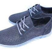 Мужские летние мокасины, туфли, разные цвета