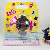 Новинка ЛОЛ большая кукла lol 3 серия сюрприз в шаре упаковка блистер