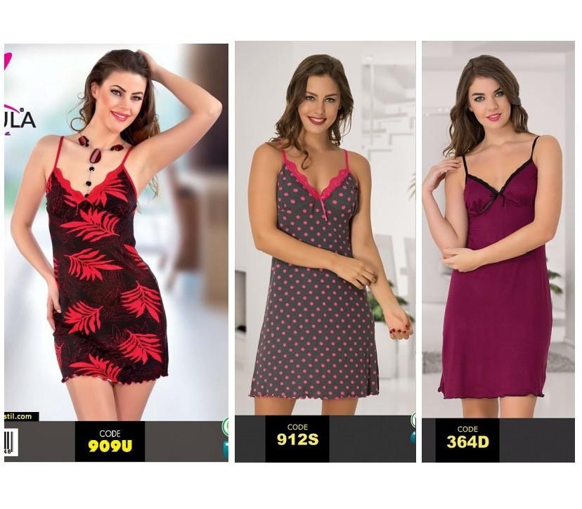 43d7bb1a6c689f6 Турецкие ночные рубашки из вискозы. ночные сорочки отличного качества. фото  №1